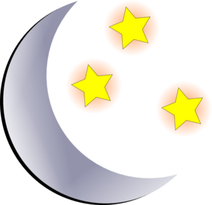moon and stars clip art at clker com vector clip art online rh clker com full moon and stars clipart crescent moon and stars clipart