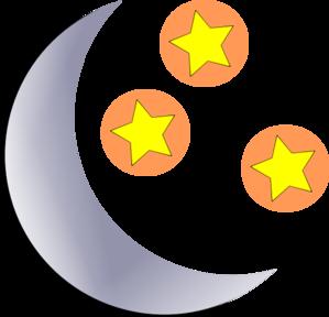 moon and stars clip art at clker com vector clip art online rh clker com sun moon and stars clipart moon and stars clipart images