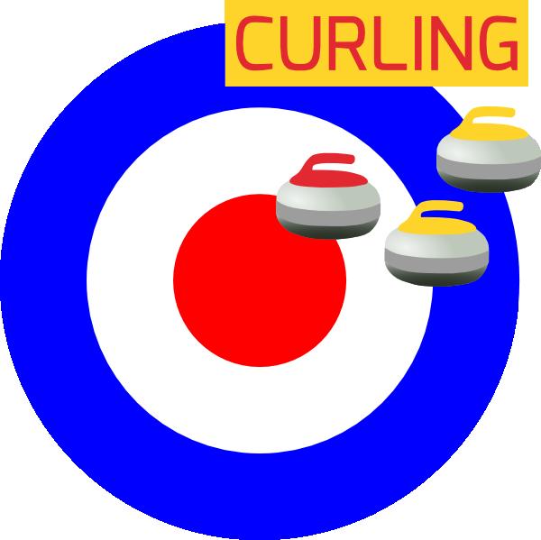 Curling Winter Sport Icon Clip Art at Clker.com - vector ...