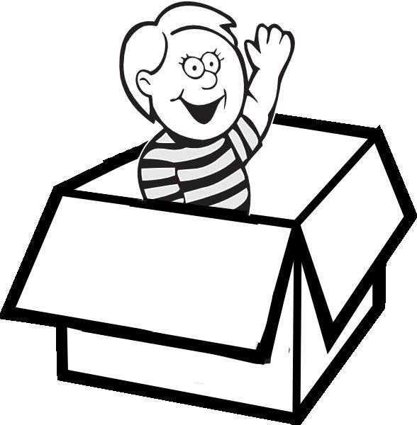 Boy In Box Clip Art at Clker.com - vector clip art online ...