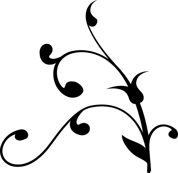 Goldberg swirl black clip art at clker com vector clip art online