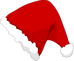 xmas hat clip art at clker com vector clip art online royalty rh clker com clipart santa hat no background clipart santa hat black and white