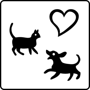 Hotel Icon Allows Pets Clip Art
