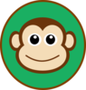 Monkey Topper Clip Art