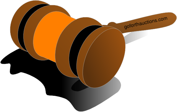 Auction Gavel Color Orange Clip Art at Clker.com - vector ...