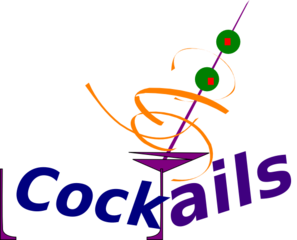 Simple Cocktails Clip Art