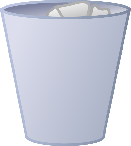 Cleaned Garbage Can Clip Art at Clker.com - vector clip art online ...