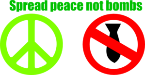 Spread Peace Clip Art