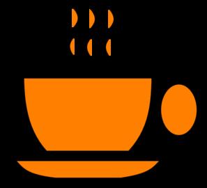 orange coffee mug clip art at clker com vector clip art online rh clker com christmas coffee mug clipart coffee mug clip art printable