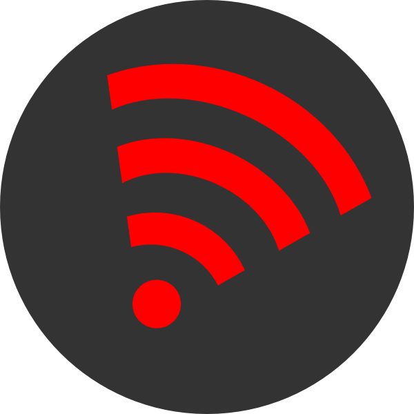 Wifi Orange Right Clip Art at Clker.com - vector clip art ...
