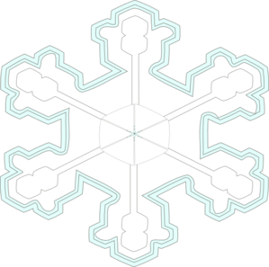 Big Amazing Snow Flake Clip Art