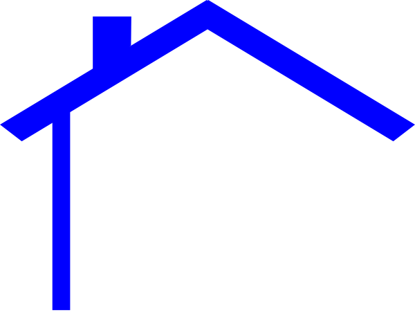free house roof clip art - photo #1