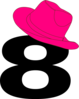 8  Cowgirl Hat Clip Art
