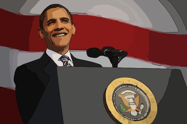 Barack Obama Clip Art At Clker Com Vector Clip Art