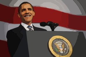 barack obama clip art at clker com vector clip art online royalty