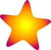 Glowing Star Clip Art