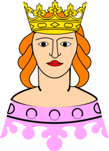 Queen Clip Art at Clker.com - vector clip art online, royalty free ...