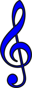 Clave Music Note Clip Art