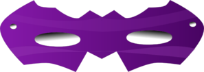 Purple Eye Mask Clip Art