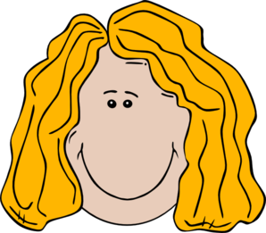 Lady Face Cartoon Clip Art