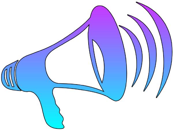 megaphone cutout clip art at clker com vector clip art shout out clip art way to go shout out clip art pink