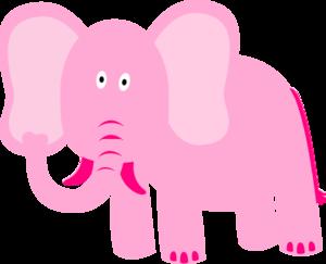 Elephant Cake Outline