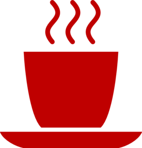 Red Coffee Mug Clip Art