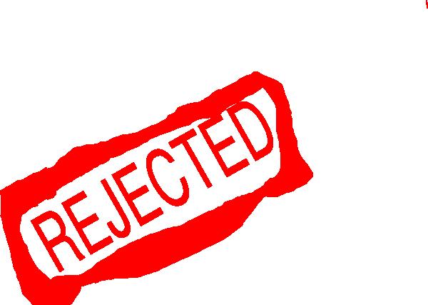 Rejected Clip Art at Clker.com - vector clip art online ...