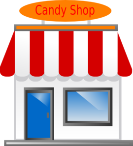 Candy Shop Front Scarecrow4 Clip Art At Clker Com Vector