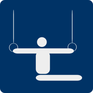 Gymnastics Pictogram Clip Art