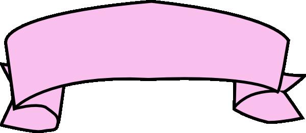 pink ribbon banner clip art at clker com vector clip art online rh clker com ribbon banner template clipart ribbon banner clipart black and white