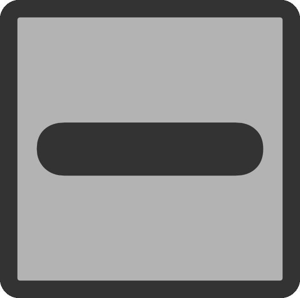 Minus Sign Subtract Clip Art at Clker.com - vector clip ...