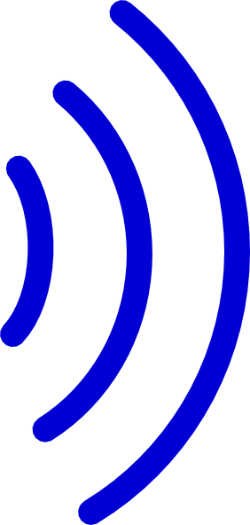 Radio waves clip art at clker vector clip art online download this image as sciox Gallery