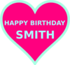 Smith Bday5 Clip Art