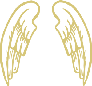Golden Snitch Wings Clip Art