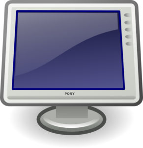 Video Display Clip Art