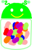 Jelly Bean Jar Rainbow Clip Art