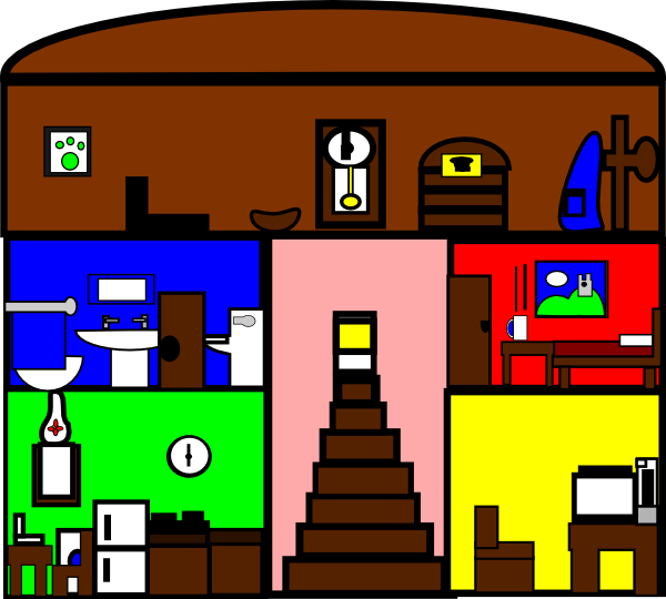 clipart inside house - photo #9