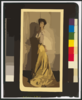 [alice Roosevelt Longworth, Full-length Portrait, Standing, Facing Left] Clip Art