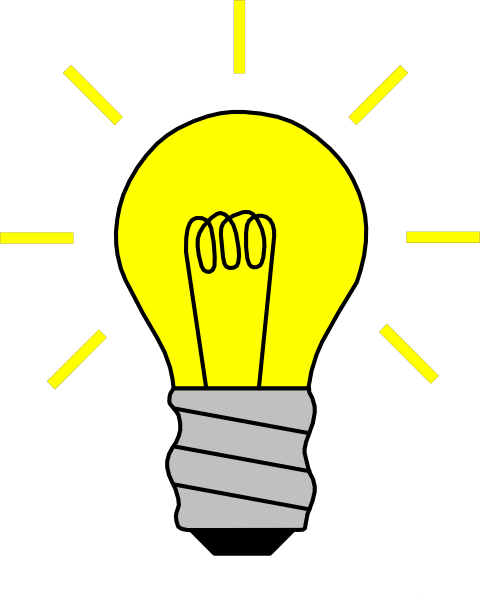 Http Www Clker Com Clipart Light Bulb On Html