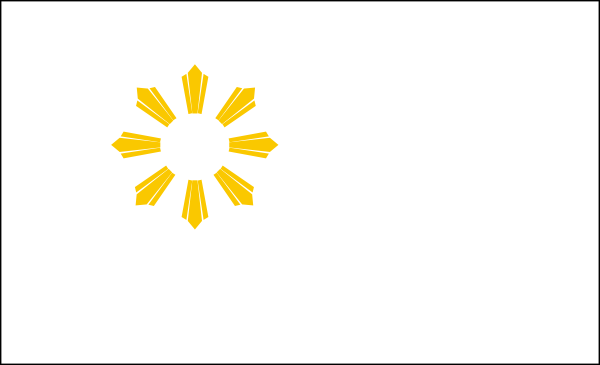 Eight Ray Sun Of The Philippine Flag Royalty Free Cliparts ...
