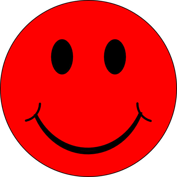 Image result for smiley face red