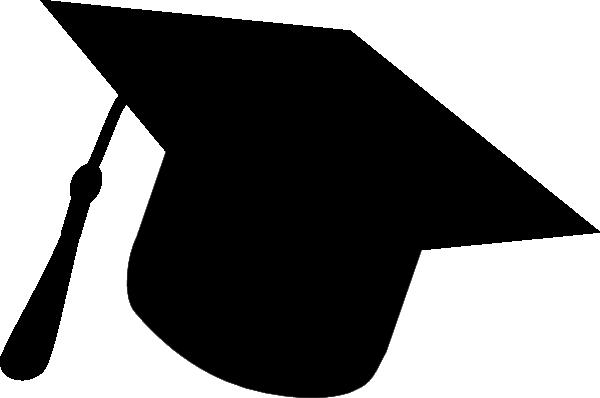 graduation hat silhouette clip art at clker com vector clip art rh clker com graduation cap silhouette clip art graduation cap silhouette clip art