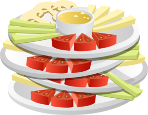 Choice Crudites Clip Art