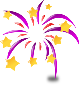 cartoon fireworks clip art