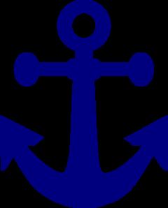 dark navy anchor clip art at clker com vector clip art online rh clker com navy clipart clipart navy seal