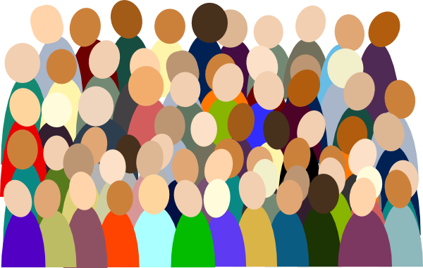 Smaller Crowd Rdc Color Clip Art at Clker.com - vector ...