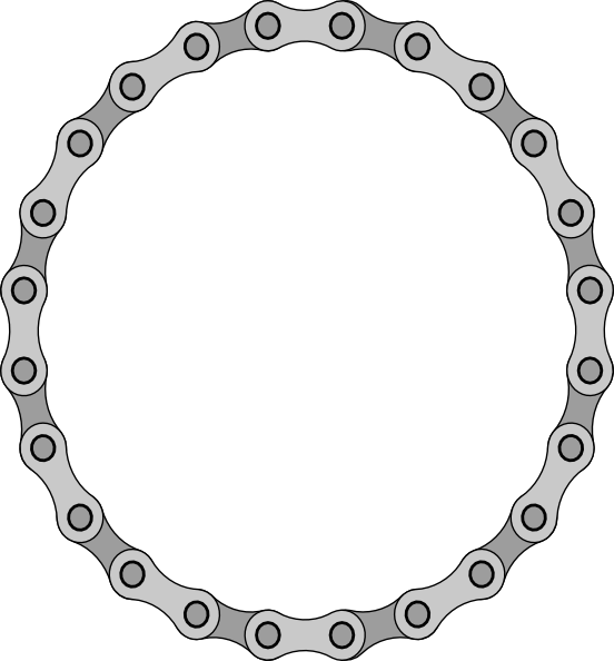Motorcycle Chain Link Clip Art