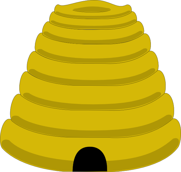 clipart beehive - photo #12
