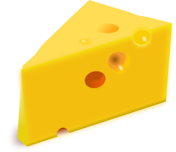 cheese clip art at clker com vector clip art online royalty free rh clker com swiss cheese slice clipart swiss cheese clipart